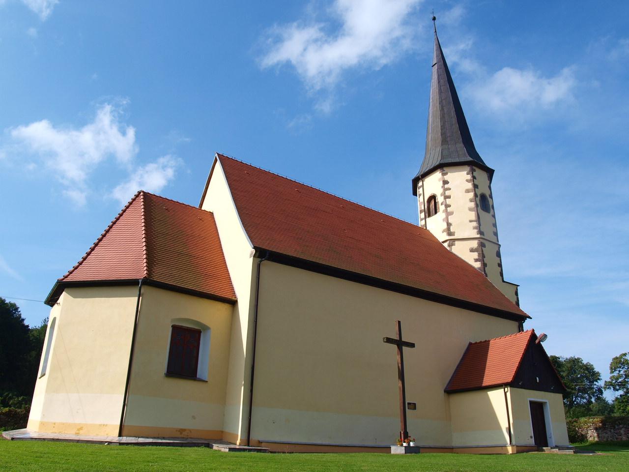 kościół pw. św. jerzego w kondratowie